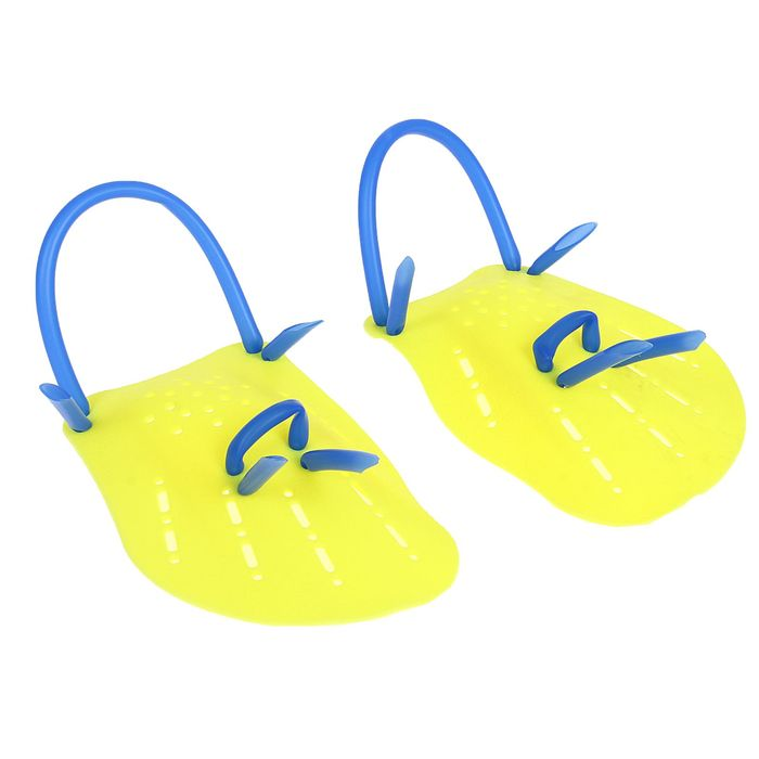Лопатки для плавания размер M, цвета МИКС