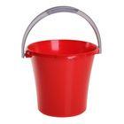 Ведро «Либерти», 10 л, цвет красный,