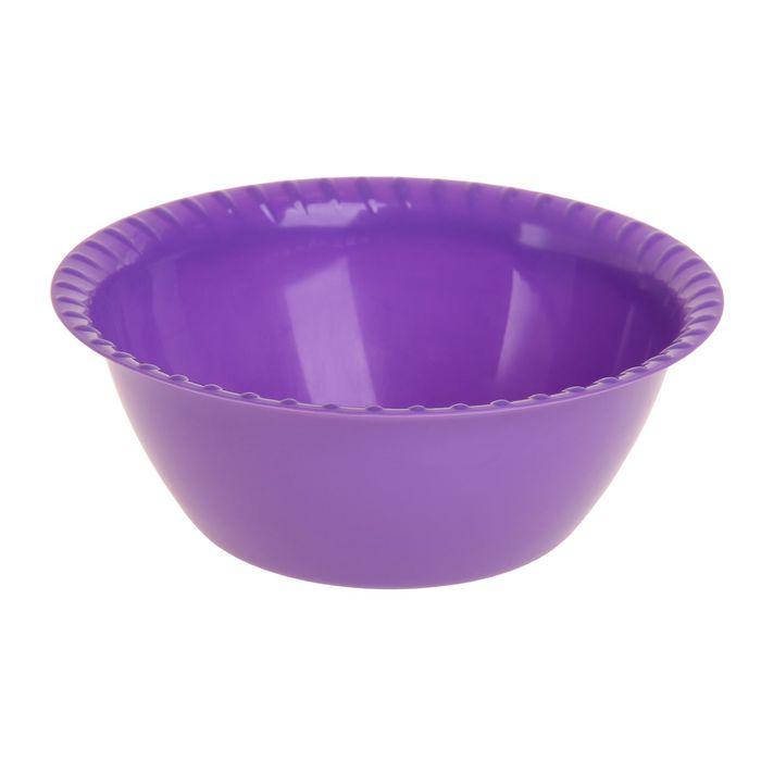 Миска-салатница 1,5 л средняя, цвет МИКС