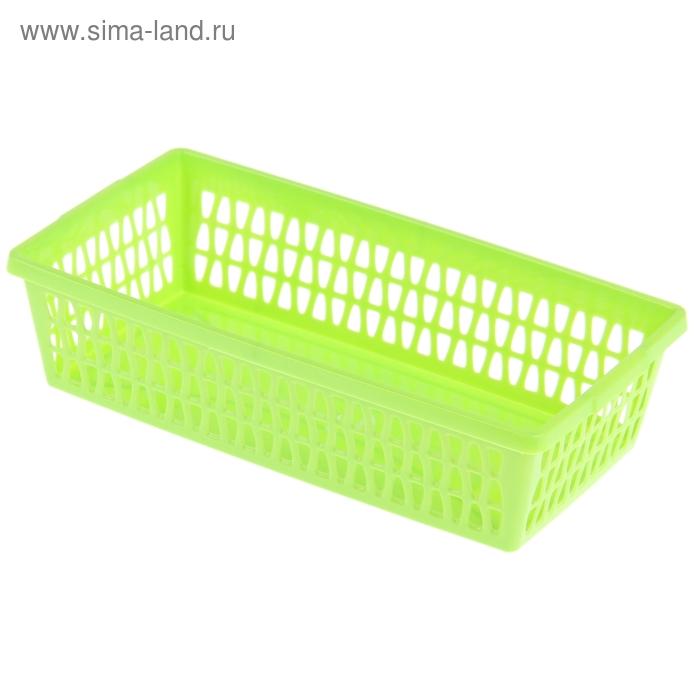 """Корзина для хранения """"Велетта"""" прямоугольная 21х11х5 см, цвет МИКС"""