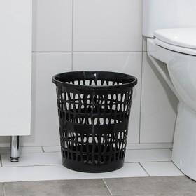 Корзина для мусора «Феста», 11 л, цвет МИКС