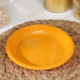Тарелка для вторых блюд, d=18 см, цвет МИКС