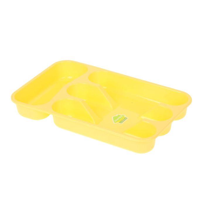 """Лоток для столовых приборов 34×22 см """"Селеста"""", цвет МИКС"""