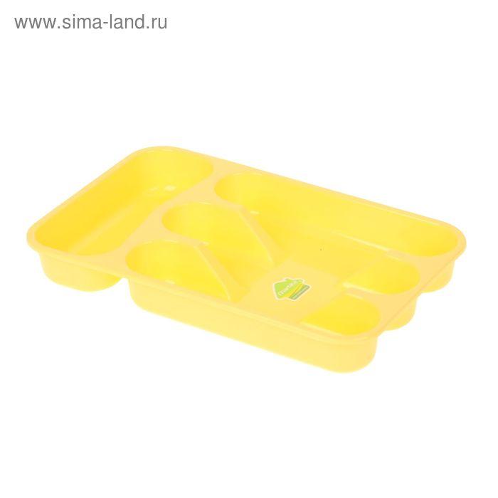 """Лоток для столовых приборов """"Селеста"""" 34х21 см, цвет МИКС"""