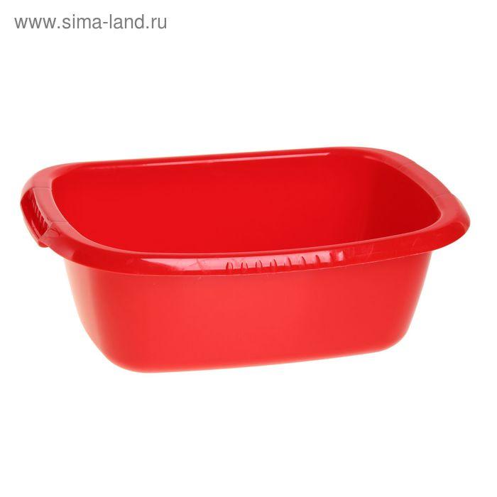 """Таз """"Водолей"""" овальный 11 л, цвет красный"""