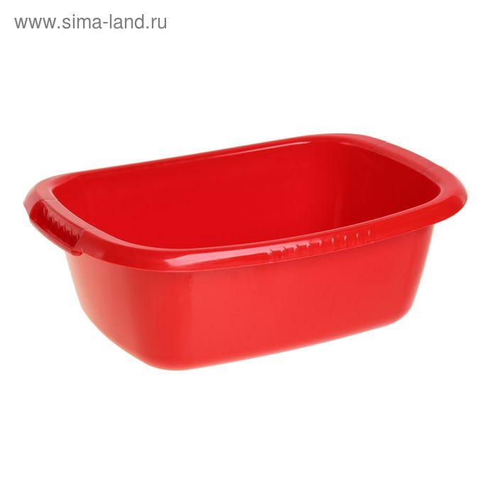 """Таз """"Водолей"""" овальный 17 л, цвет красный"""