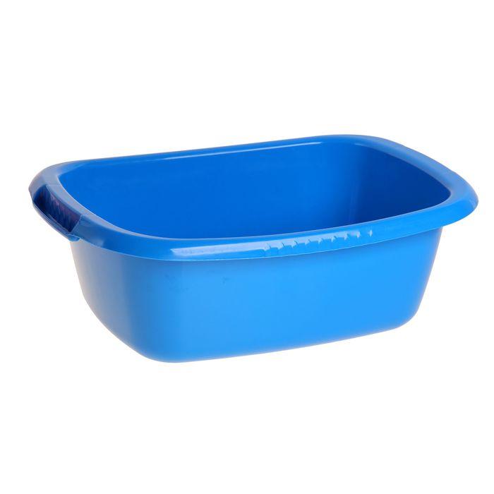 """Таз овальный 17 л """"Водолей"""", цвет синий"""