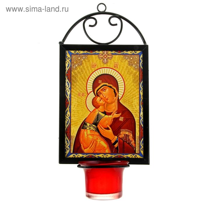 """Икона """"Божией Матери Владимирской"""" с лампадой"""
