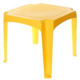Детский стол, цвет желтый Ош