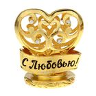 """Interior table figurine """"With love"""""""