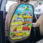 Чехол-незапинайка на спинку сиденья автомобиля «Весёлое приключение»