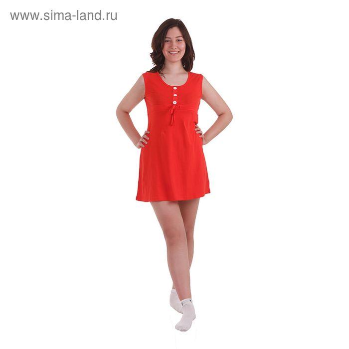 Сарафан женский, размер 52, цвет красный (30642)