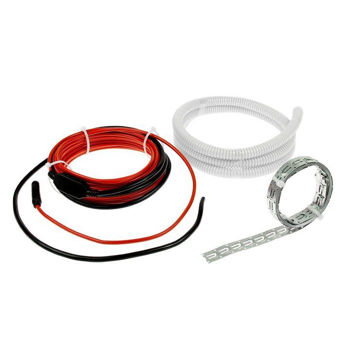 Теплый пол Warmstad WSS-150, кабельный, 150 Вт, под стяжку, 1-1.4 м2