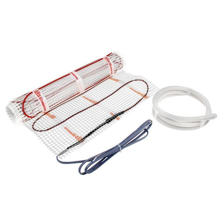 Теплый пол Warmstad WSM-485-3.2, 230 Вт, кабельный, под плитку, 3.2 кв.м.