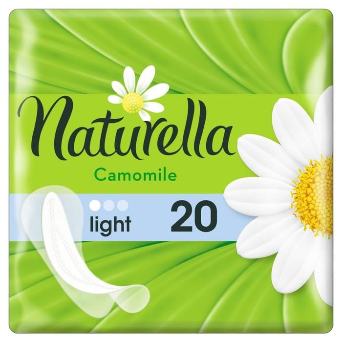 Прокладки ежедневные Naturella Camomile Light, 20 шт