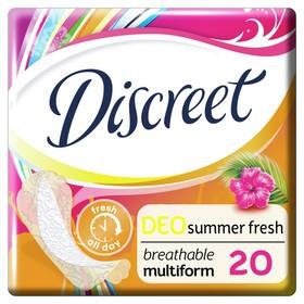 Ежедневные прокладки Discreet Deo Summer Fresh Multiform, 20 шт.