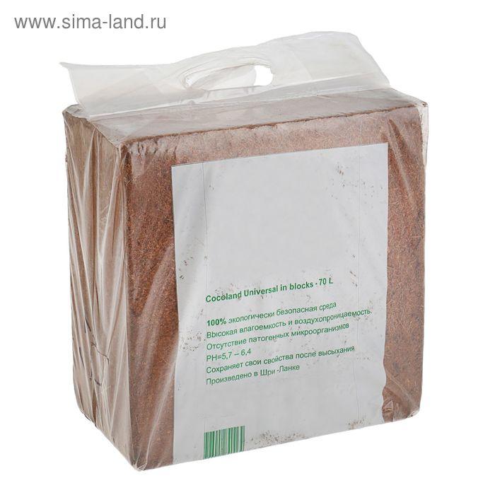 Субстрат кокосовый Universal в блоках по 5 кг