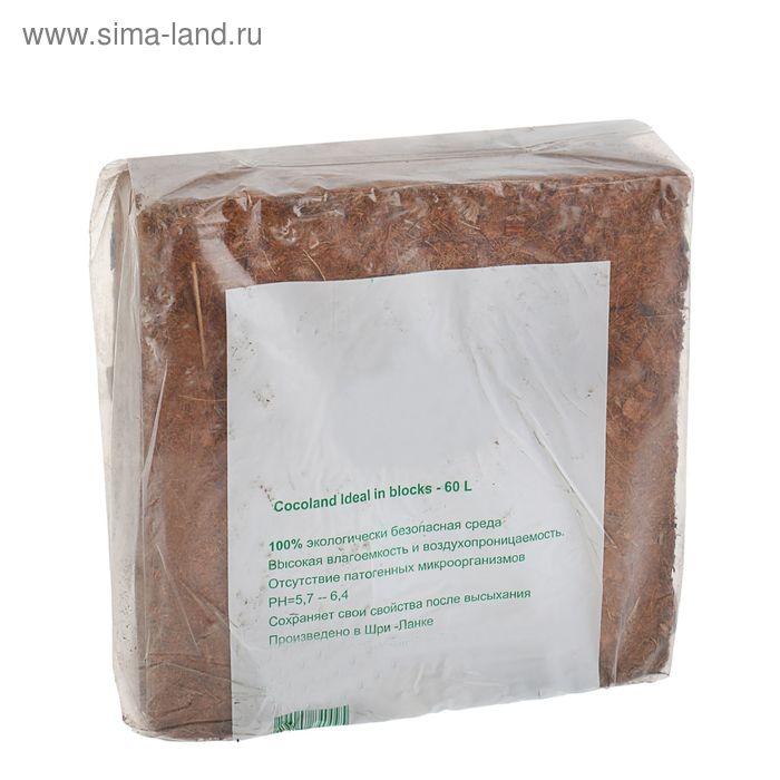 Субстрат кокосовый Ideal в блоках по 5 кг