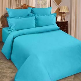 Pillowcase, size 50x70 Rainbow aquamarine, poplin.