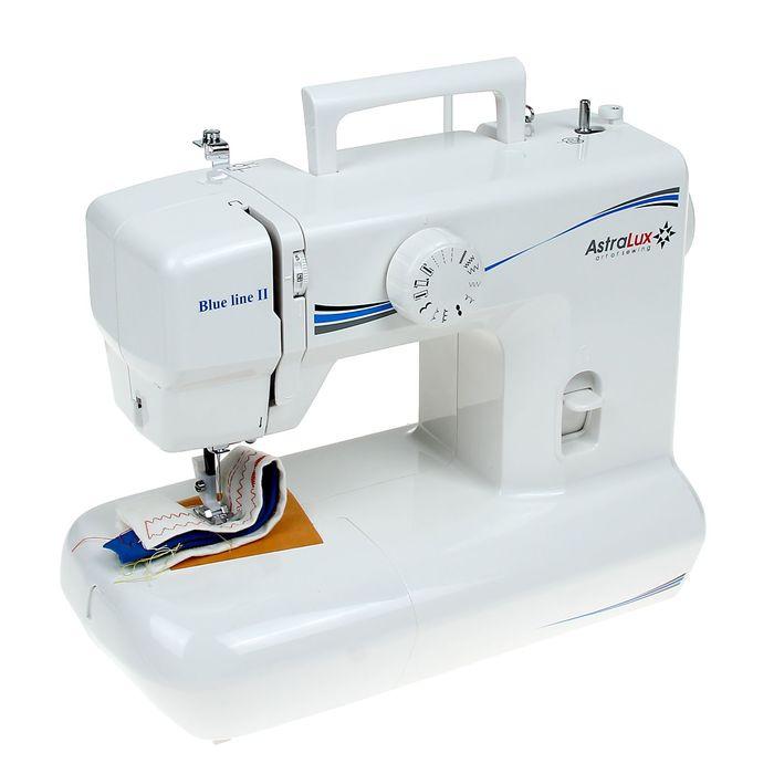 Швейная машина Astralux Blueline II (голубой)
