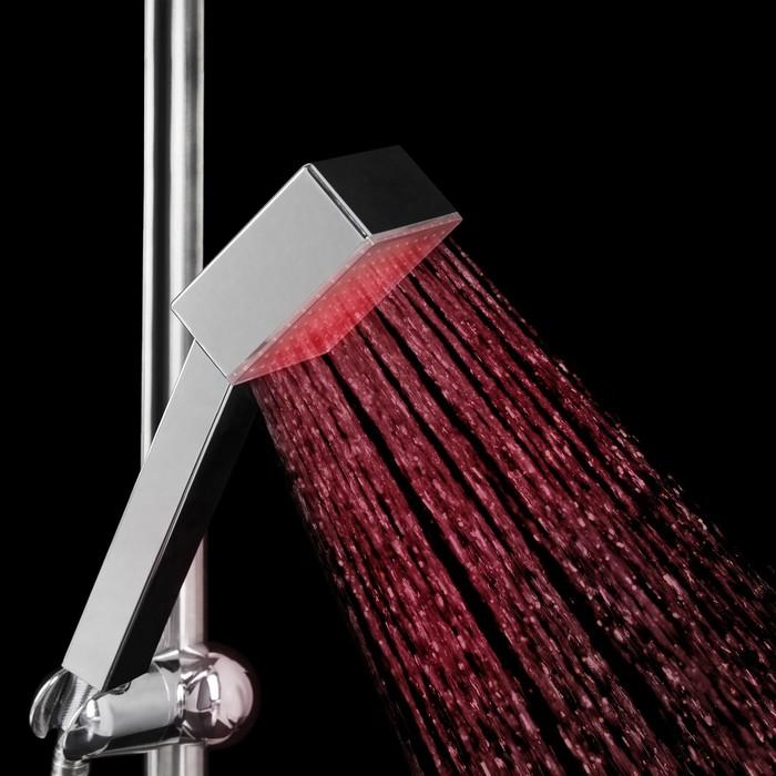 Лейка на душ с подсветкой LED RGB c датчиком температуры LD-004
