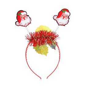 """Carnival headband """"happy New year! Santa Claus"""""""