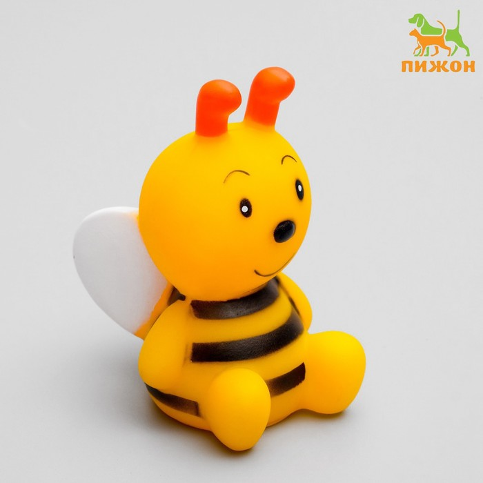 """Игрушка пищащая """"Пчёлка"""" для собак, 8,5 см"""