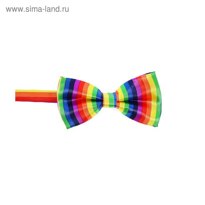 """Карнавальная бабочка """"Радуга"""""""