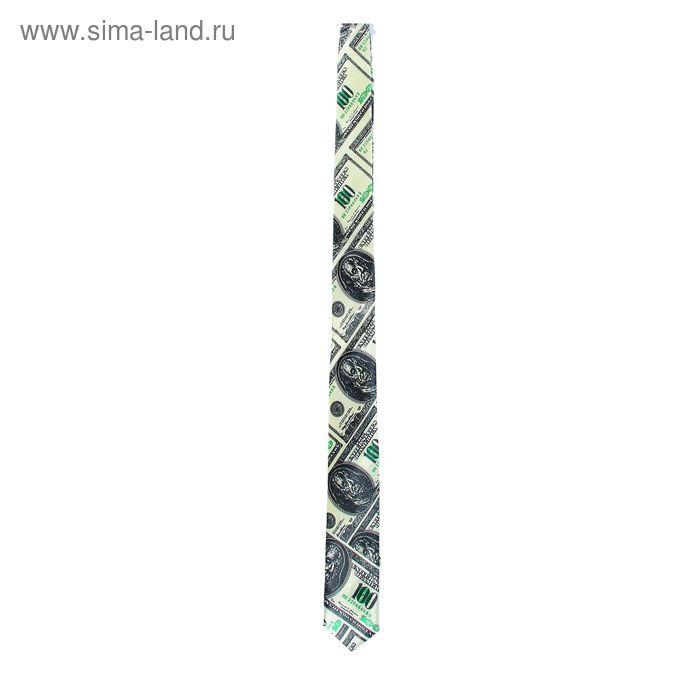 "Карнавальный галстук ""Доллар"""