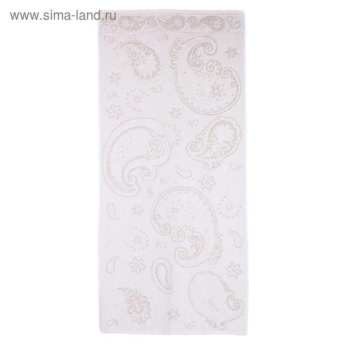"""Полотенце махровое """"Ярмарка"""", размер 67х150 см, 400 гр/м2"""