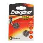 Батарейка литиевая Energizer, CR2032-2BL, блистер, 2 шт.