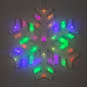 Фигура 'Снежинка' 40х40 см, пластик, 40 LED, 240V RG/RB Ош