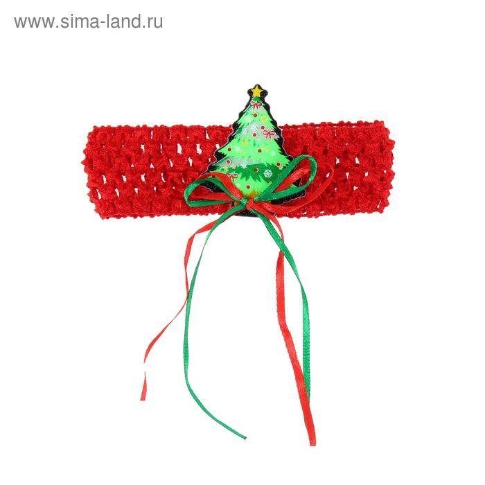 """Карнавальная повязка-резинка """"Елочка"""""""