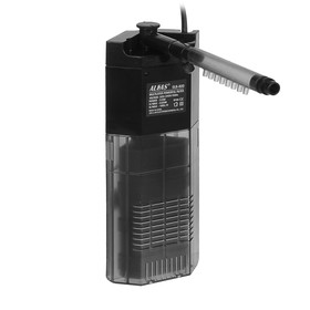 Внутренний фильтр Aleas угловой с флейтой 180 л/ч GLB-800B