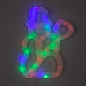 Фигура 'Снеговик с метлой' 40х25 см, пластик, 40 LED, 240V МУЛЬТИ Ош