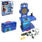 """Игровой модуль в чемодане """"Полицейский патруль"""", игровой столик-мишень, полицейское снаряжение, высота 73 см"""