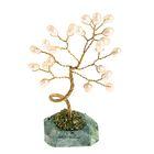 """Дерево счастья """"Жемчуг"""", натуральный камень, 21 лист"""