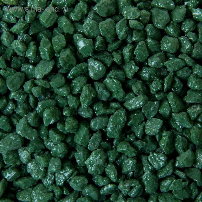 Мраморная крошка салатово-зеленая  2-5 мм 350 г