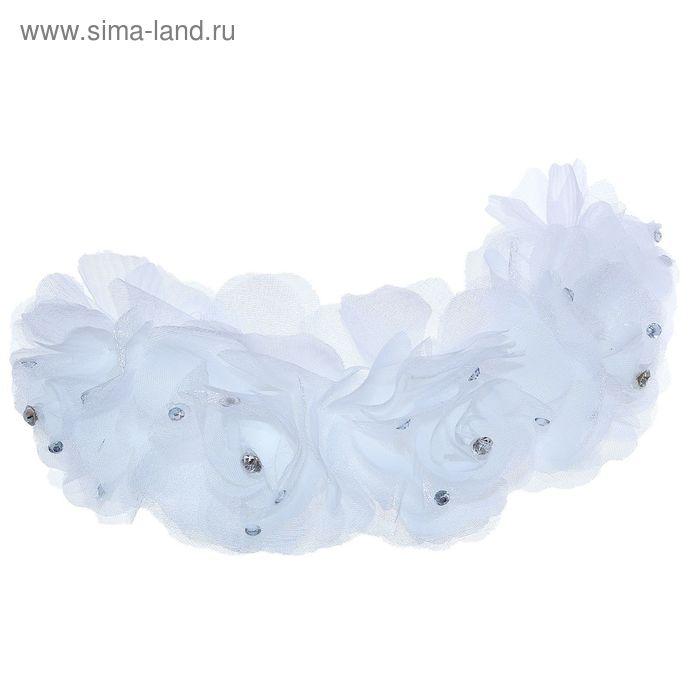 """Венок для волос """"Декор невесты"""" розы """"Роскошь"""""""