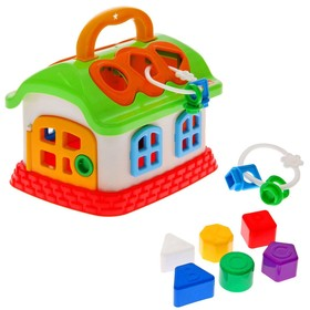 """Развивающая игрушка """"Сказочный домик"""" с сортером"""