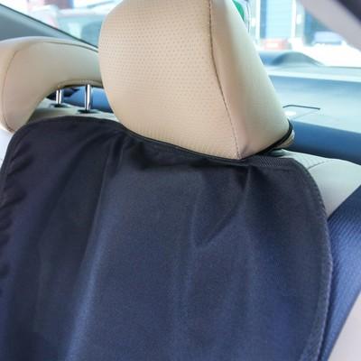 Защитная накидка под автокресло, цвет чёрный