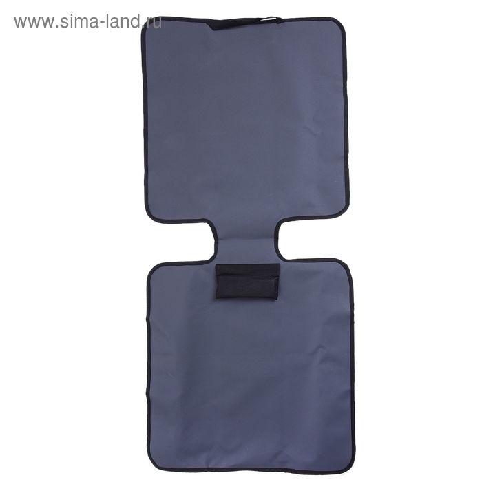 Защитная накидка под детское автокресло, цвет серый