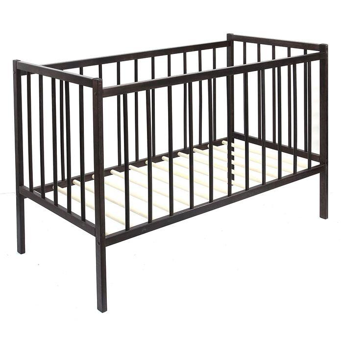 Детская кроватка «Колибри Мини», цвет венге