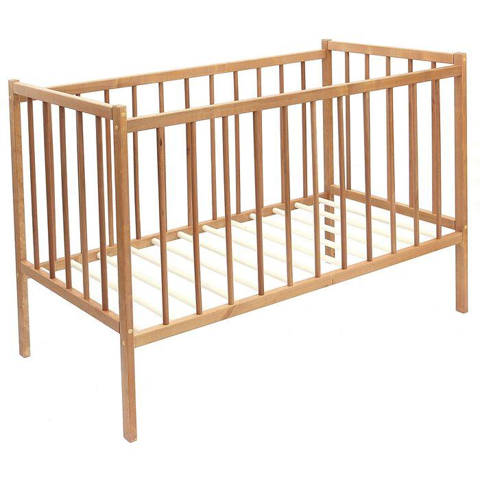 Детская кроватка «Колибри Мини», цвет орех