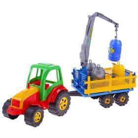 Трактор, с бочками Tytan