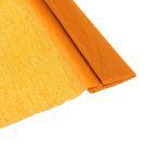 Бумага крепированная 50*200см плотность-32 г/м в рулоне Оранжевая (80-15)