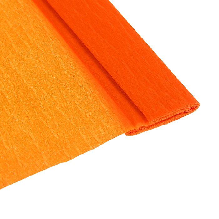 Бумага крепированная 50*200см плотность-32 г/м в рулоне Коралловый (80-24)