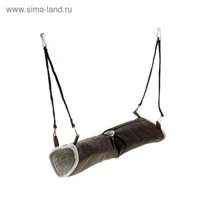 Тоннель подвесной для грызунов, 29 х 12 см, микс