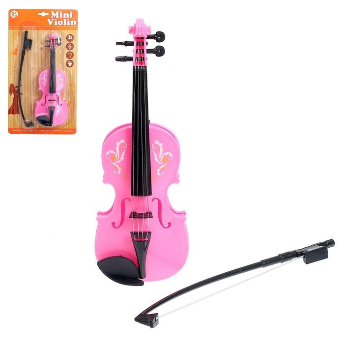 Музыкальная игрушка скрипка «Юный музыкант», МИКС