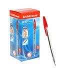 Ручка шариковая автоматическая Erich Krause R-301 MATIC, стержень красный, узел 1.0 мм, EK 38511